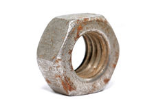 Aging nut Stock Photo