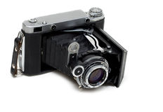 Aging photo camera Stock Images