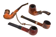aging pipe smoking Στοκ εικόνα με δικαίωμα ελεύθερης χρήσης