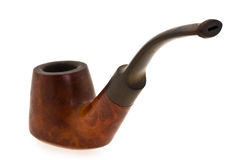 Aging smoking pipe Royalty Free Stock Images