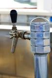 Aging steel beer tap Stock Image