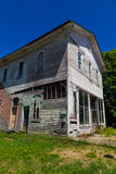 Aging Store Building in Mainesburg Stock Photography