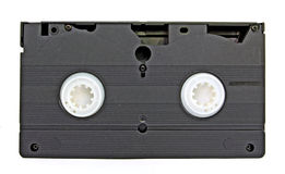 Aging video cassette Royalty Free Stock Images