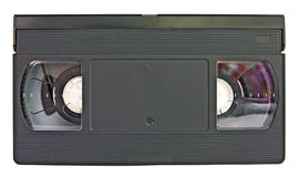 Aging video cassette Royalty Free Stock Photos