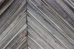 Aging wall of the wooden building as background or texture. Stock Photography