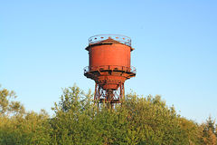Aging water tower Stock Photo