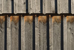 Aging and Weathered Wood Royalty Free Stock Photography