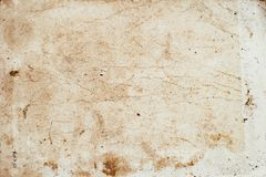 Free Aging, Worn Paper With Water Stains And Rough Edges Stock Photos - 161807133