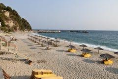 Agio Ioannis Dorf am elion in Griechenland Stockfoto