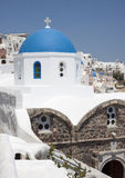 Agio Mina church in Exo Gonia, Santorini Royalty Free Stock Photo