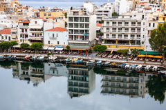 Agio Nikolaos, Kreta Lizenzfreie Stockbilder