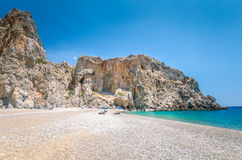 Agiofarago beach, Crete island, Greece. Royalty Free Stock Photos