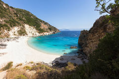 Agiofili plaża Obraz Royalty Free