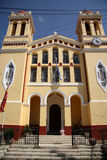 Agioi Anargiri church in Lefkimi (Corfu, Greece) Royalty Free Stock Images