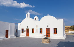 Agioi Anargiroi church, Milos island, Cyclades, Greece Royalty Free Stock Images
