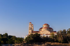 Agioi Anargyroi Church in Paphos. Parishes of Orthodox Church in Stock Image