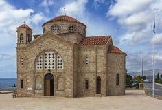 Agioi Anargyroi kościół Zdjęcia Stock