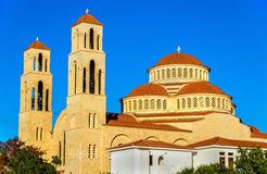 Agioi Anargyroi Orthodox Cathedral in Paphos Stock Images
