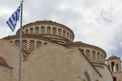 Agioi Anargyroi Orthodox Cathedral in Paphos Royalty Free Stock Image