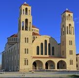 Agioi Anargyroi Ortodoksalna katedra w Paphos Zdjęcie Stock
