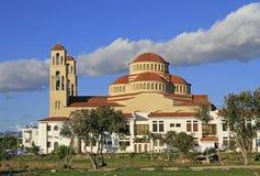 Agioi Anargyroi Ortodoksalna katedra w Paphos Obraz Royalty Free