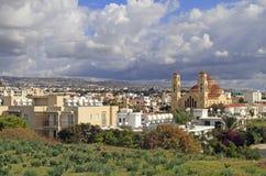 Agioi Anargyroi Ortodoksalna katedra w Paphos Fotografia Stock