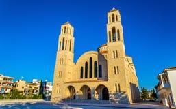 Agioi Anargyroi Ortodoksalna katedra w Paphos Fotografia Royalty Free