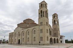 Agioi Anargyroi Ortodoksalna katedra w Paphos Obrazy Stock