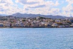 Agioi Apostoloi w Crete Obrazy Royalty Free