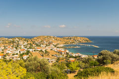 Agioi Apostoloi w Evia Grecja krajobrazie Obraz Royalty Free