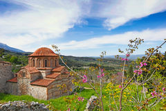 Agioi Theodoroi w Mystras, Grecja Fotografia Stock