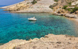 agioklima cyclades希腊海岛kimolos 免版税库存照片