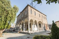 Agios church voukolos royalty free stock images