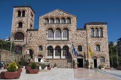 "Agios Dimitrios Saint Dimitrios-kerk †""Thessaloniki, Griekenland Royalty-vrije Stock Foto's"