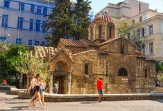 Agios Eleftherios Church Royalty Free Stock Photography