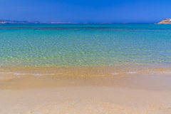 Agios Georgios beach, Naxos island, Cyclades, Aegean, Greece Stock Image