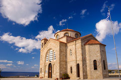 Agios Georgios church Stock Images