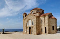 Agios Georgios church Royalty Free Stock Photo