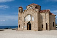 Agios Georgios church Royalty Free Stock Photos