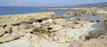 Agios Georgios Coast Royalty Free Stock Photo