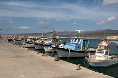 Agios Georgios -  marina Royalty Free Stock Photos