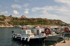 Agios Georgios -  marina Stock Photography
