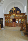 Agios Georgios new church Royalty Free Stock Images