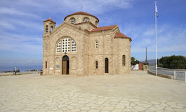 Agios Georgios new church Royalty Free Stock Image
