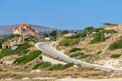 Agios Gergios church on Cyprus Royalty Free Stock Photo