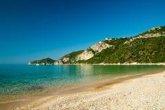 Agios Giorgios Pagon Beach Korfu ö, Grekland Royaltyfria Foton
