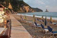 Agios Gordios beach, Corfu Royalty Free Stock Image