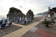 Agios Gordios beach, Corfu Stock Photography