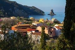 Agios Gordios Stock Images