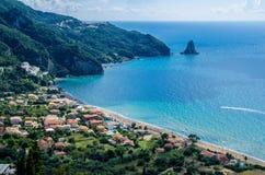 Agios Gordios View Royalty Free Stock Photo